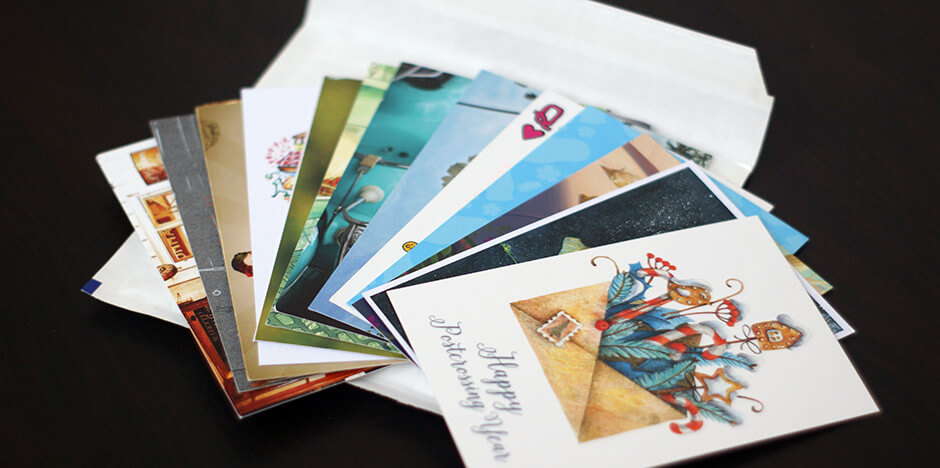 Postcard Subscription Sample